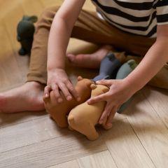 Lot de 3 jouets David blue multi Liewood