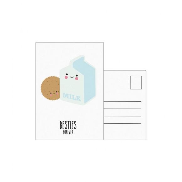 EEF LILLEMOR  Carte postale Besties