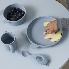 Set de repas vivi cat rabbit sea blue Liewood