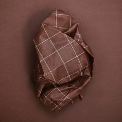 Cotton wraps with beeswax warm check Haps Nordic