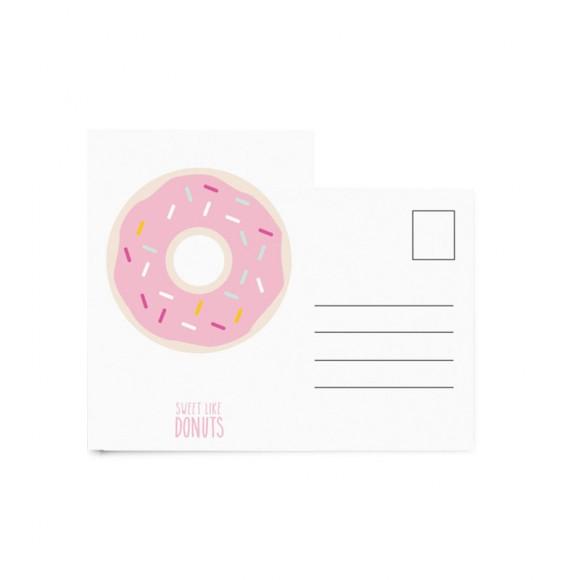 EEF LILLEMOR  Carte postale Donut