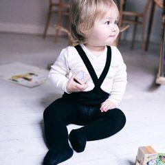 Collants à bretelles classic black Silly Silas