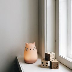 Lampe veilleuse winston cat rose Liewood