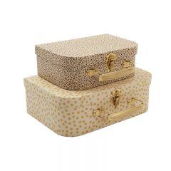 Pack de 2 valises buttercup rosarie