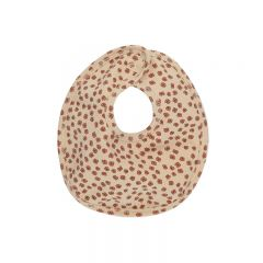 Bavoir en coton buttercup rosa