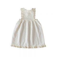 Pipa apron dress milk Liilu