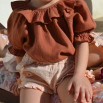 Bella shorts nude Liilu