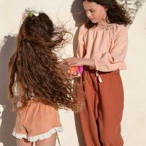 Liilu blouse nude Liilu