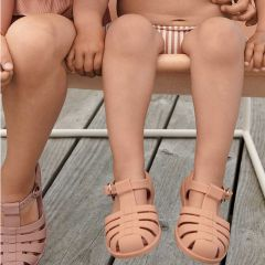 Rubber beach sandals tuscany rose Liewood